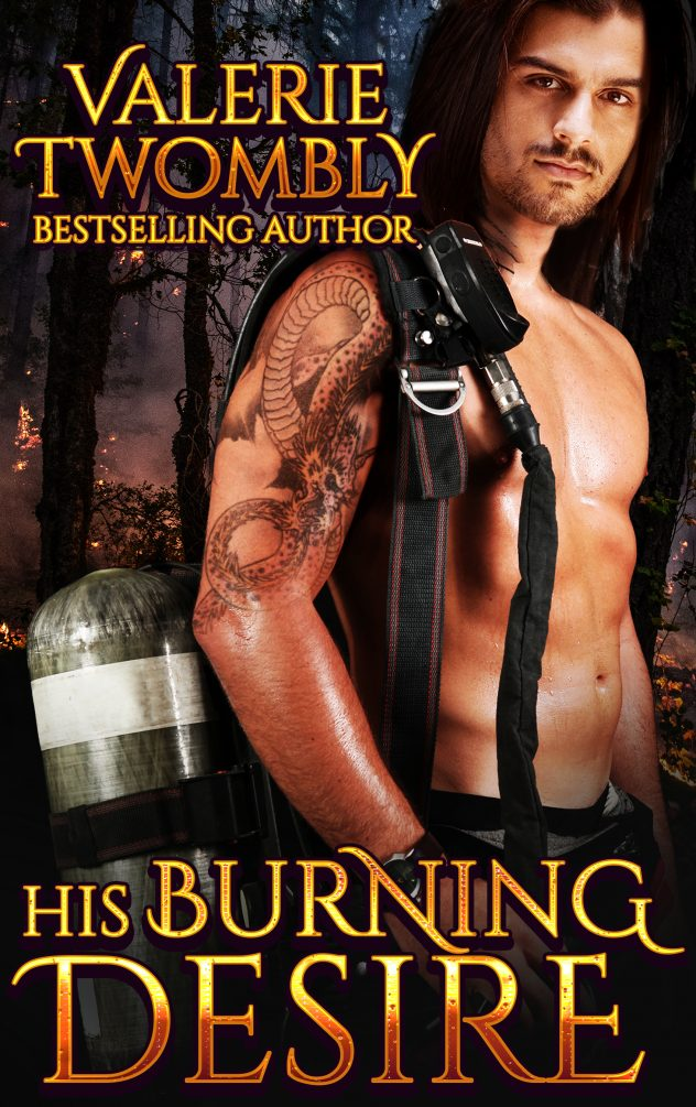 Book Cover: His Burning Desire (Book 1)